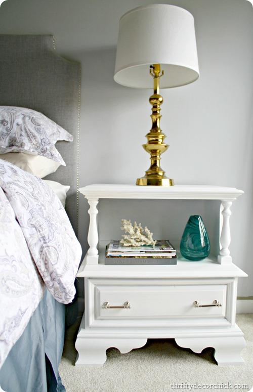 80's nightstand redo