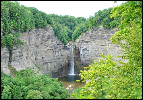 03d - North Rim Trail - View of Taughannock Falls from the North Rim
