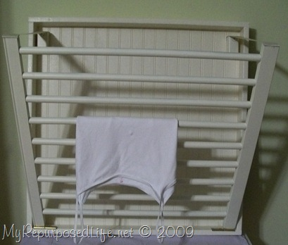 ballard design inpired drying rack