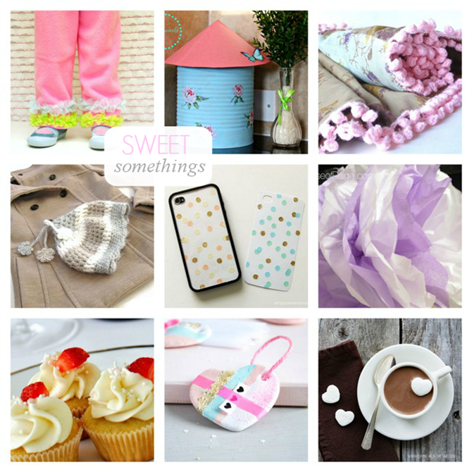 Projects featured from The Inspiration Board on homework | Sweet Somethings via carolynshomework.com