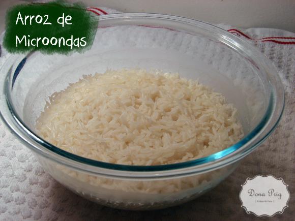 arroz de microondas