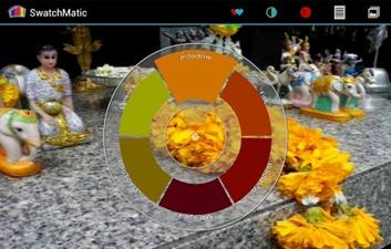Tela principal do SwatchMatic