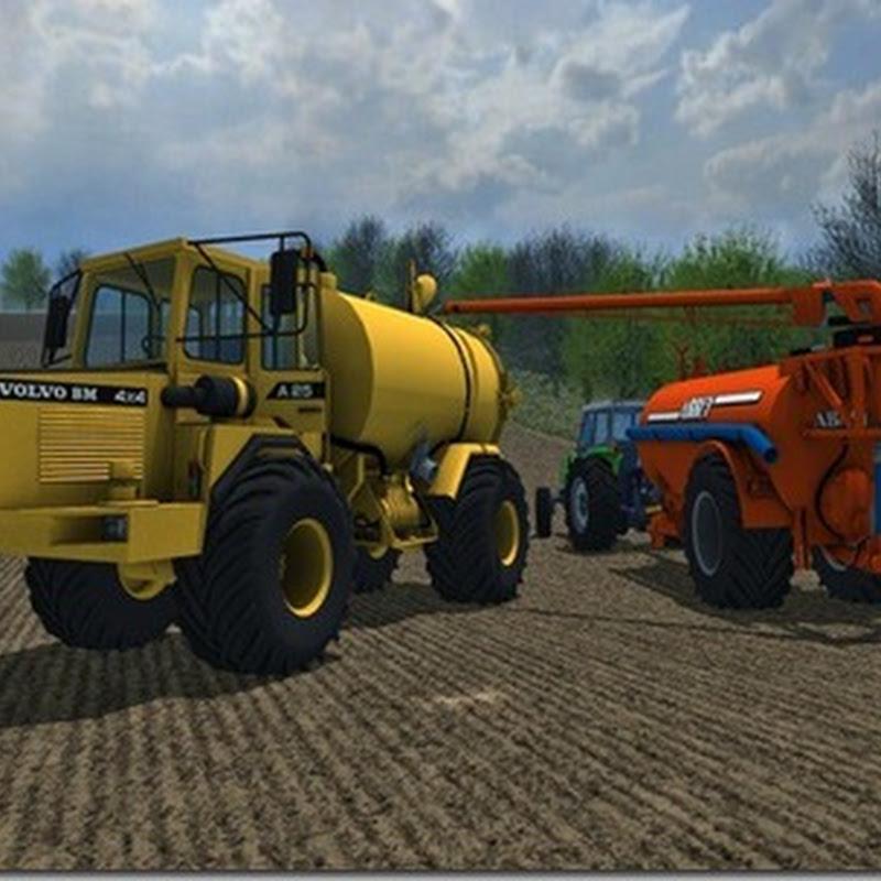 Farming simulator 2013 - Volvo BM A25 Self Propelled Slurry Tanker