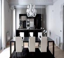 cocinas-blanco-y-negro-decoracion-comedor