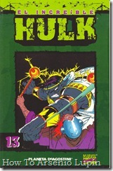 P00013 - Coleccionable Hulk #13 (de 50)
