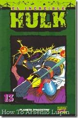 P00013 - Coleccionable Hulk #13 (de 50)