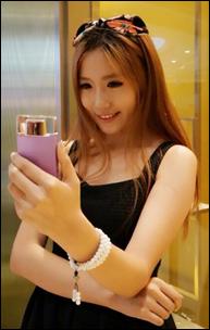 Sonyn selfie kamera käytössä?