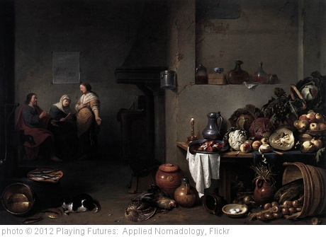 '[ B ] Pieter de Bloot - Christ in the House of Martha and Mary (1637)' photo (c) 2012, Playing Futures:  Applied Nomadology - license: http://creativecommons.org/licenses/by/2.0/
