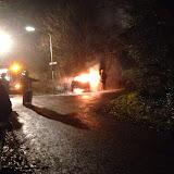 Autobrand na diefstal aan Ploeglaan in Bronsveen Oude Pekela