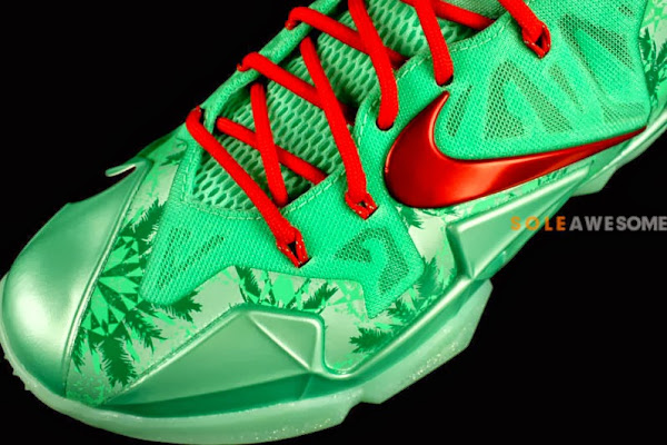 First Look at Men8217s Nike LeBron XI Christmas 616175301