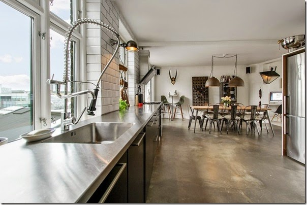 case e interni - loft - stile scandinavo - industriale (5)
