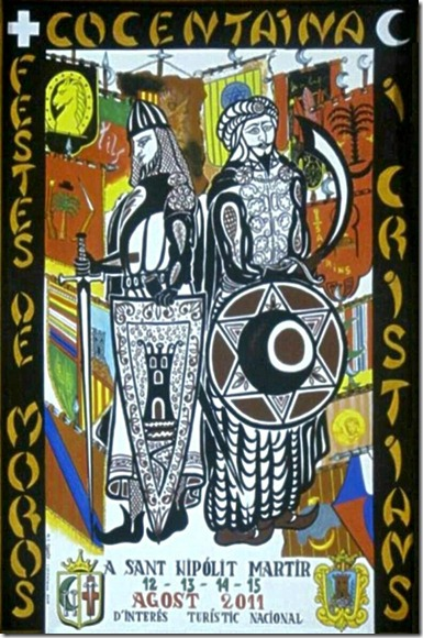 Cartell Festes MOROS i CRISTIANS, COCENTAINA 2011