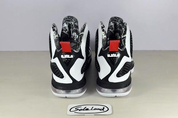 First Look Nike LeBron 9 8220Black amp White8221 aka strikeScarfacestrike Freegums