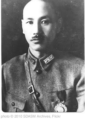 'General Chiang Kai Shek' photo (c) 2010, SDASM Archives - license: http://www.flickr.com/commons/usage/