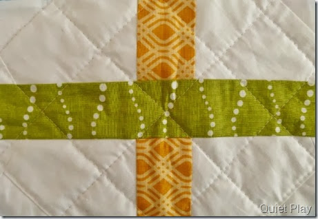 Cross Hatched Quilting Front