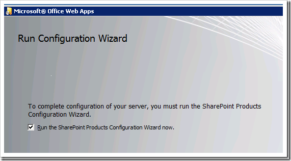 Installing Office Web Apps for SharePoint 2010 Step by Step