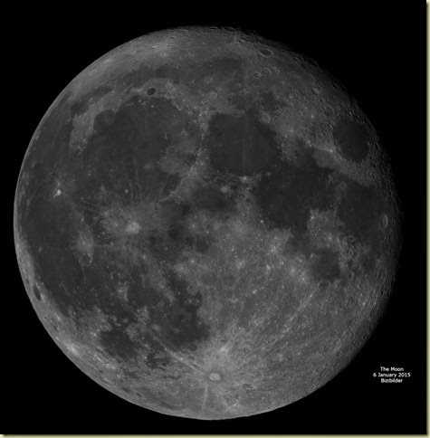 6 January 2015 Moon Mosaic