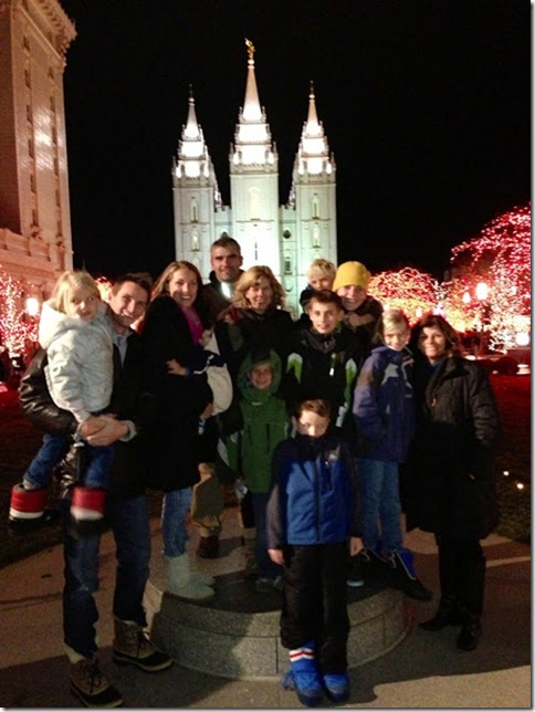 Temple Square the 23rd