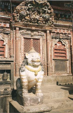 Temples of Patan: Hindu temple in Nepal