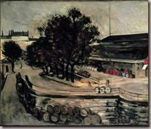 Paul Czanne La Halle aux vins 1872