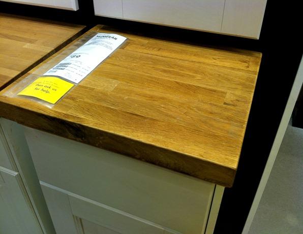 NUMERAR oak countertop