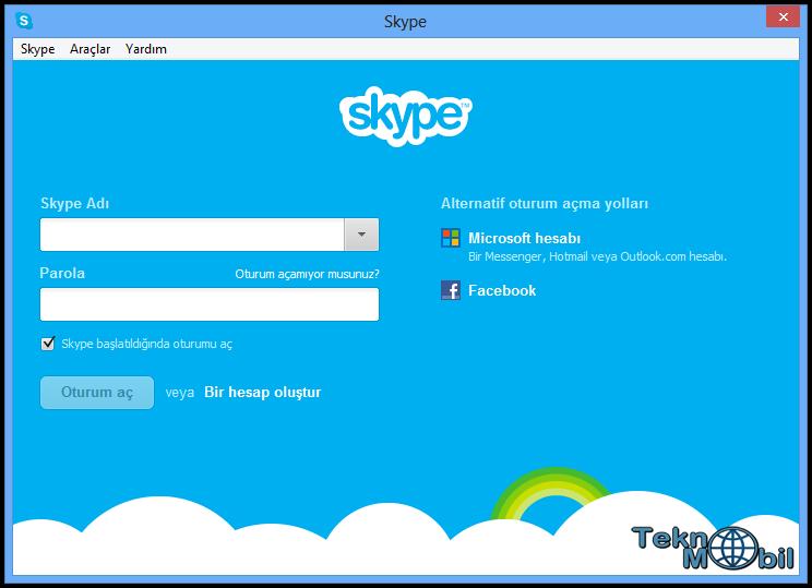Skype indir v6.7.0.102 Türkçe