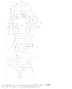 [AA]姫柊雪菜 水着 (ストライク・ザ・ブラッド)