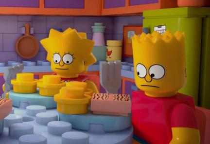 Simpsons lego 550