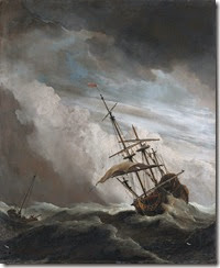 De_Windstoot_-_A_ship_in_need_in_a_raging_storm_(Willem_van_de_Velde_II,_1707)