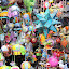Thousands of Colorful Lanterns at Ubud Market - Bali, Indonesia