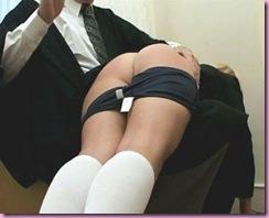 bare bottom spanks