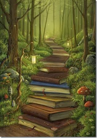 O bosque dos libros?