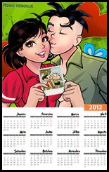 Calendario 2012 Amor