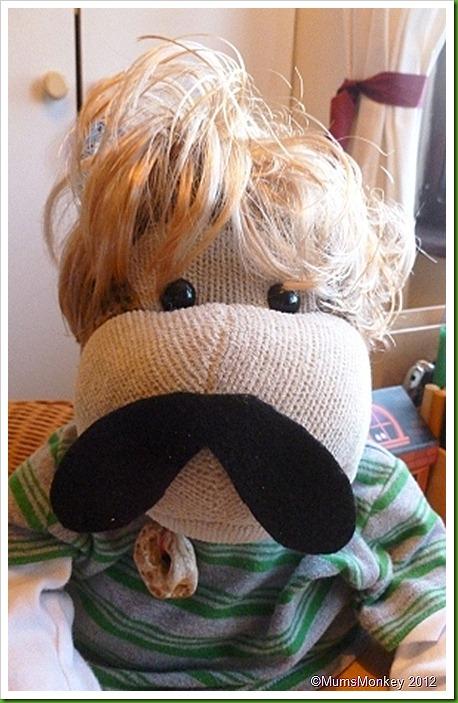Velcro Moustache. Velcro Month Movember