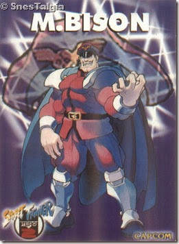 M Bison 1 - Card Street Fighter Zero 2