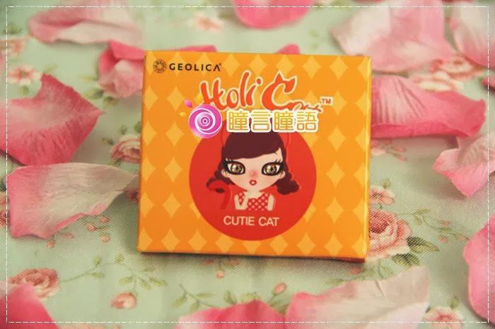 韓國GEO隱形眼鏡-GEO Holicat 荷麗貓迷萌咖(Cuite Cat)1