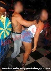 Stripper Alexandre Draco e Sra Playboy