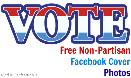Free Non Partisan Facebook Cover Photos for Election Day
