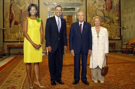 Italy G8 Obama