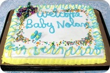 Surprise Baby Shower for Nolan