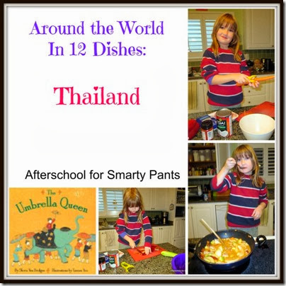 Cooking with kids - a Thai dish