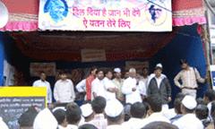 anna hazare struggle