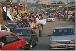 a kinshasa road