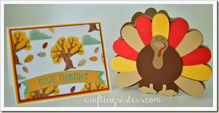 Turkey & Tree Card