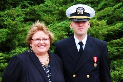 Mark Navy OCS Grad 17