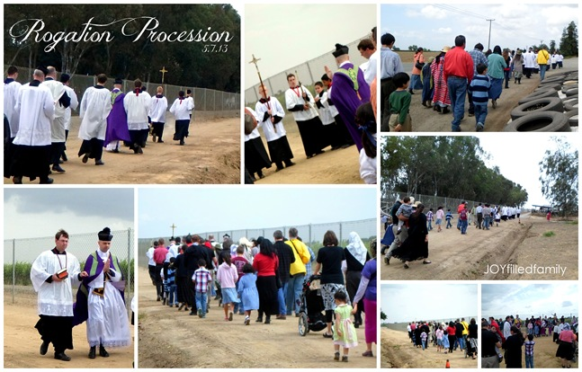 Rogation Procession 5.7.13