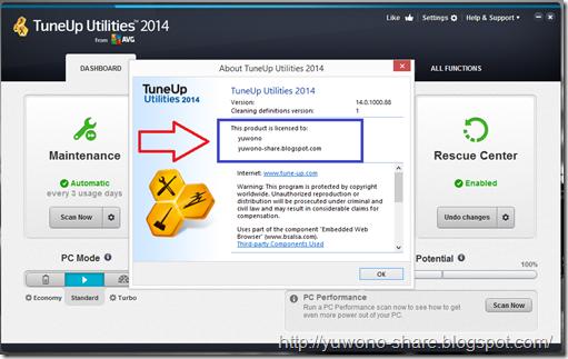 TuneUp Utilities 2014 Serial Number 9