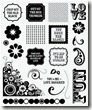 rock the block stamp set