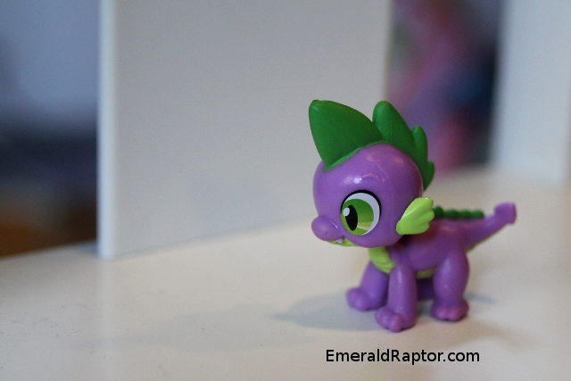 Spike the baby dragon fra My Little Pony