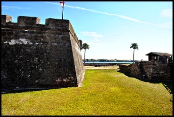 04a2 - Exterior walls and moat area